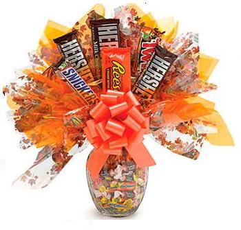 The romantic gift for girlfriend-Candy Bouquet