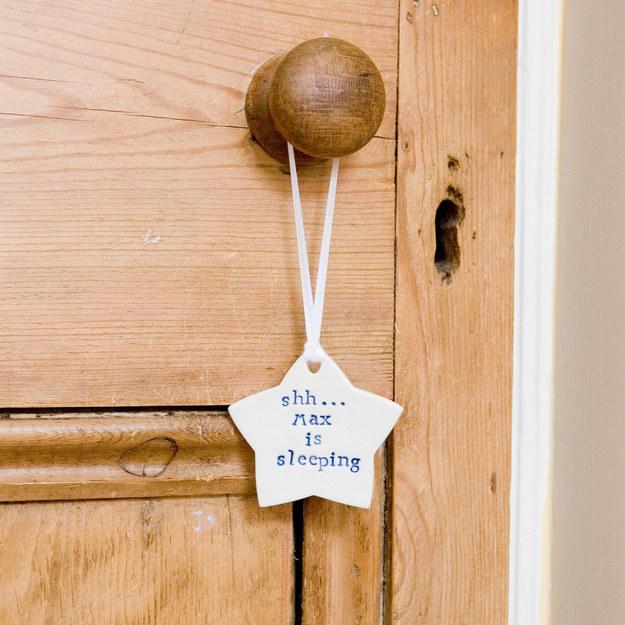 Personalized Nursery Door Sign