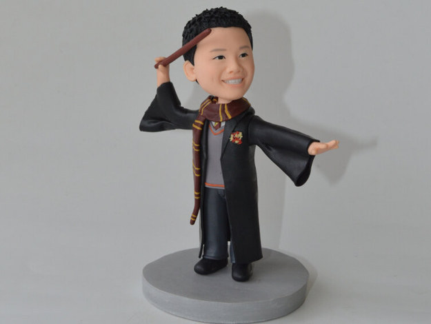 Custom Hogwarts Bobble Head