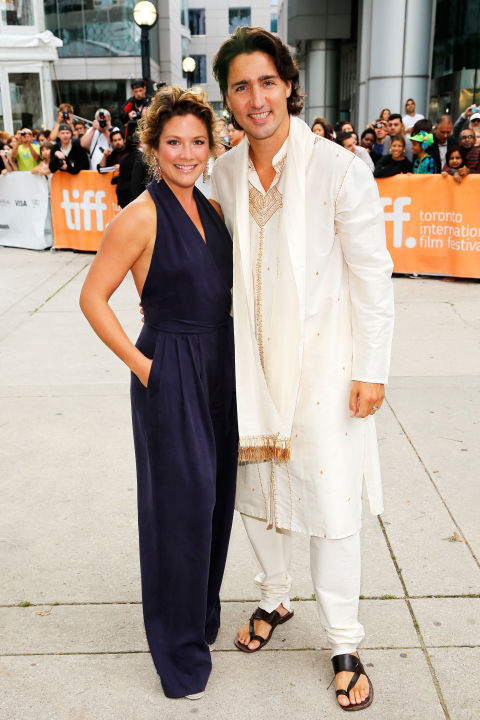Posing together at the 2012 Toronto International Film Festival
