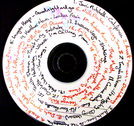 The romantic gift for girlfriend-Mix CD