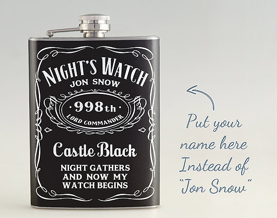 Customized Game of Thrones Flask
