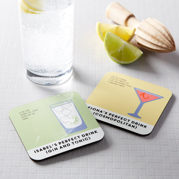 Personalized Perfect Drink Coasters