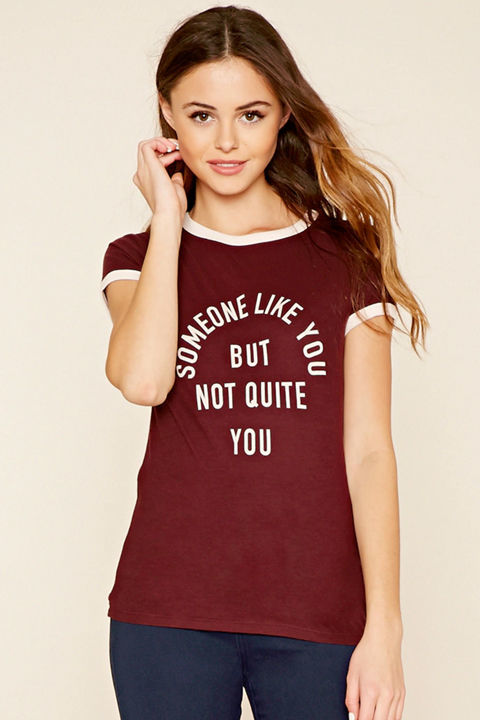 Someone Like You Graphic Tee, $7.90, Forever 21