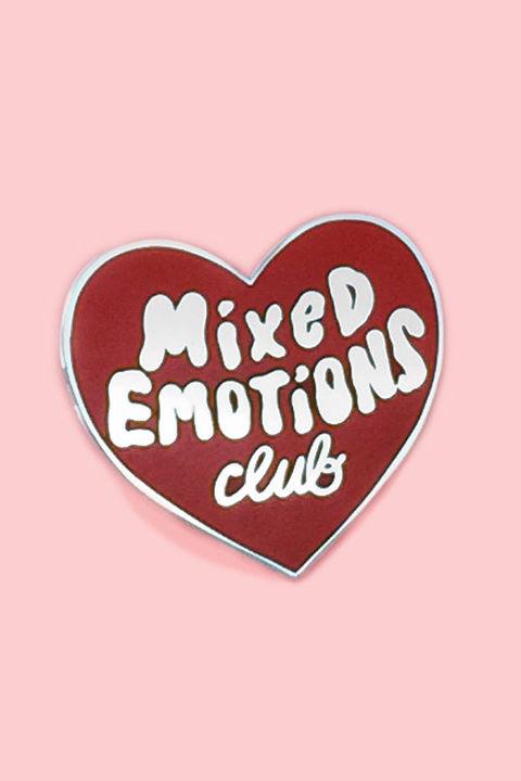 Mixed Emotions Pin, $9, Ban.do